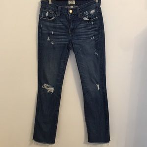 J Crew Slim Distressed Broken in Boyfriend 24